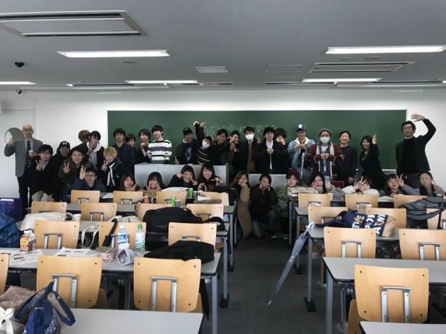 大阪商業大学での様子