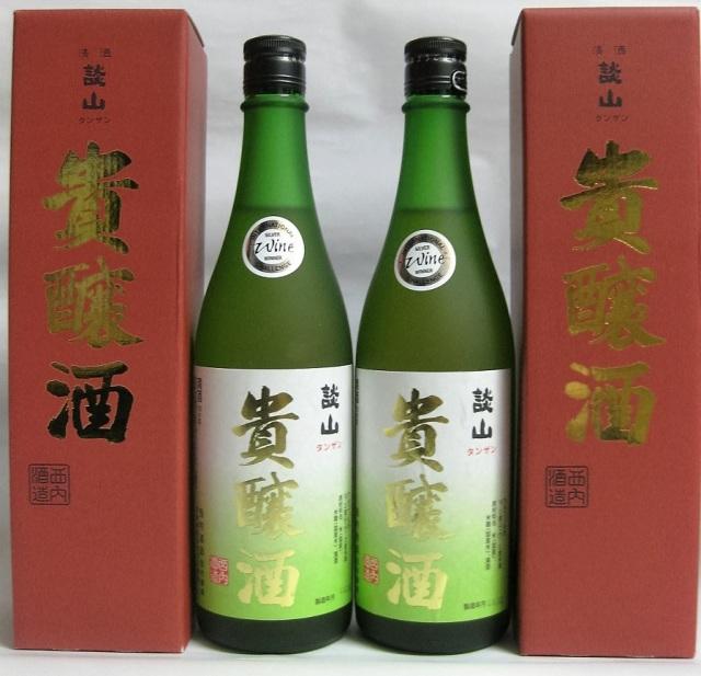 奈良県・西内酒造謹製 高級濃醇酒 談山(たんざん) 貴醸酒(きじょうしゅ)720ml瓶