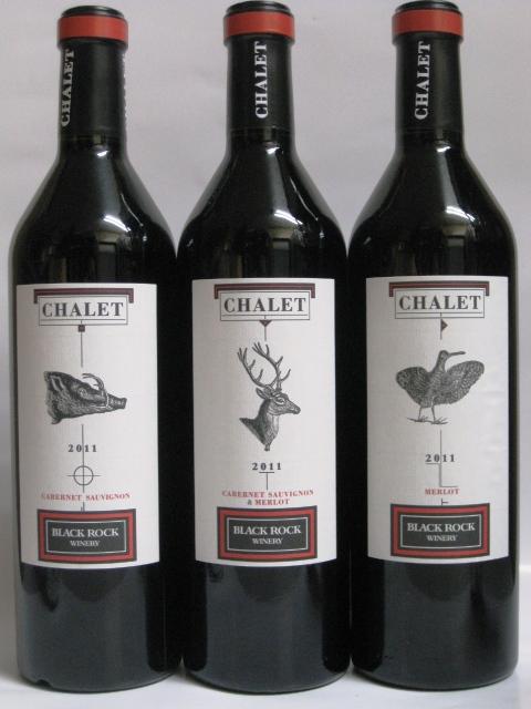 Chalet(シャレー)赤3本 各750ml 飲み比べ3本セット